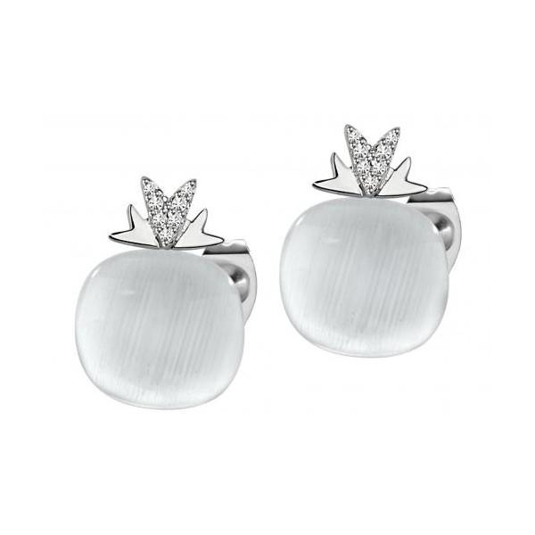 ampia selezione migliore vendita servizio eccellente Morellato orecchini con pietra bianca in argento 925%