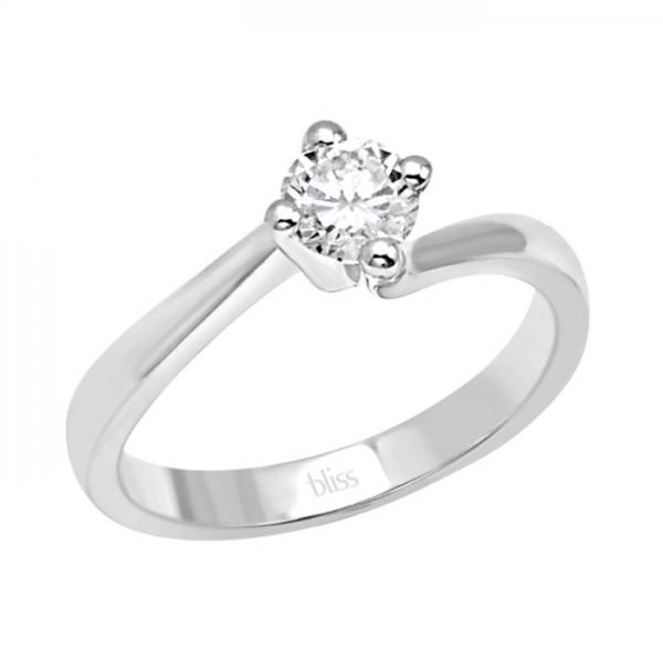 anello fidanzamento solitario bliss