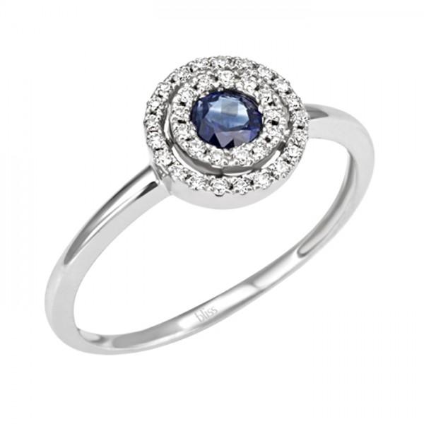 Bliss anello zaffiro